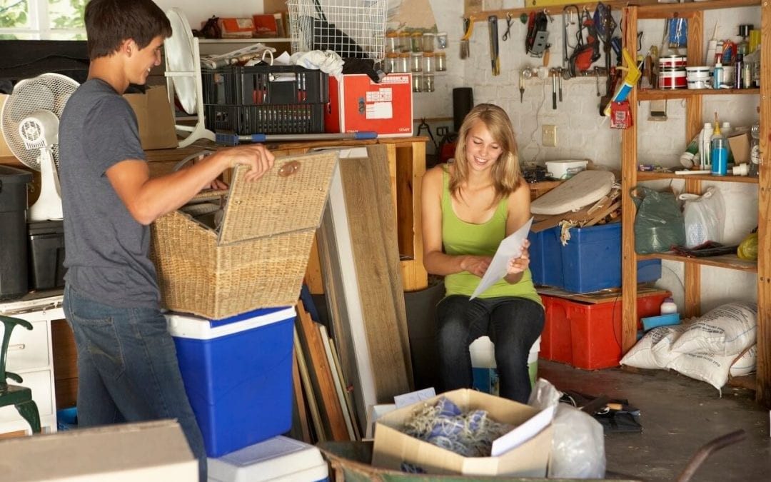 declutter your home for peace of mind and a cleaner house