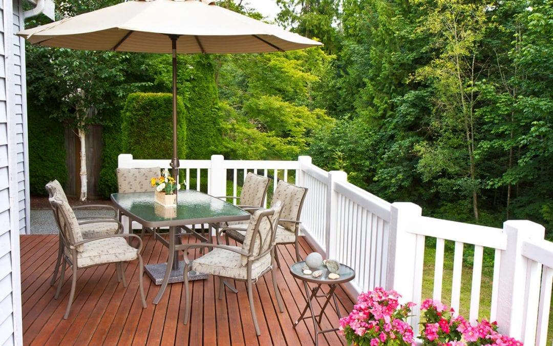 update outdoor furniture