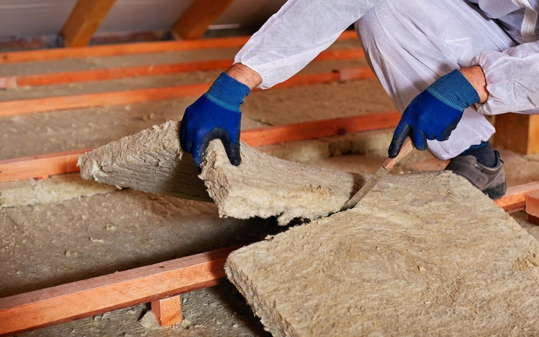 make your home more energy efficient by updating the insulation
