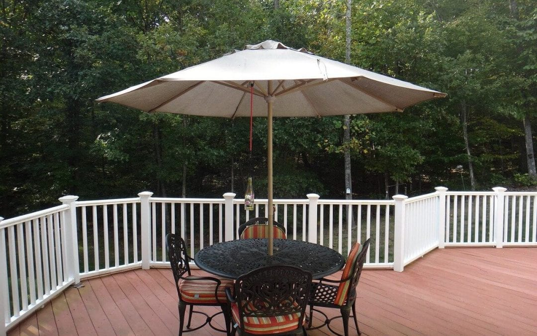 add shade to outdoor spaces